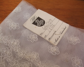 A lovely original piece of Swiss lace from the 1970s