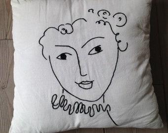 Matisse Cushion cover/Matisse cushion cover