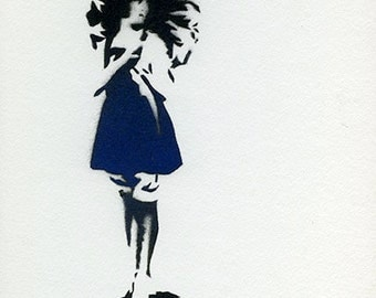 Maude (Blue & Black)