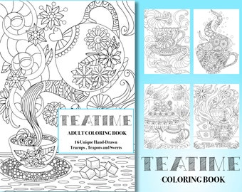 Coloring Book For Adult Grown Up Color