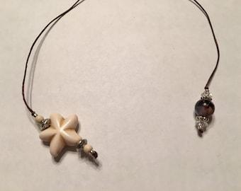 White and Beige Starfish