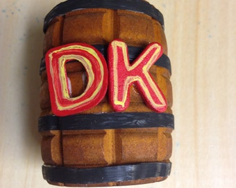 """Donkey Kong Country Inspired """"DK"""" Barrel"""