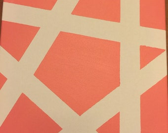 Canvas star design