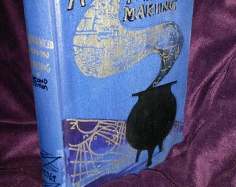 Advanced Potion Making, blank book
