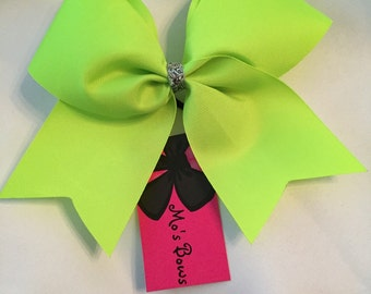SALE Neon yellow bow