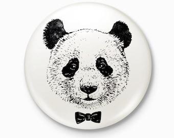 The Panda - Pocket Mirror