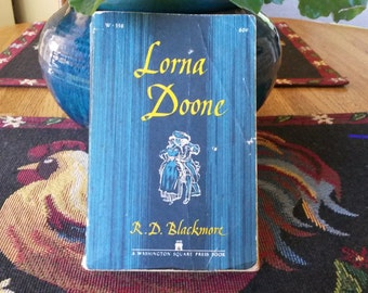 1961 First Edition Softcover Lorna Doone Book