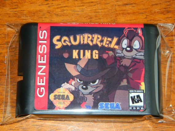 Squirrel King Fan Made Sega Genesis By Retrogamingworld On
