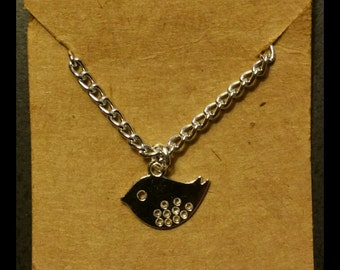 Simple Reminders Bird Necklace