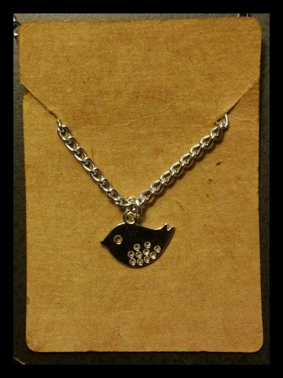 Simple Reminders Bird Necklace
