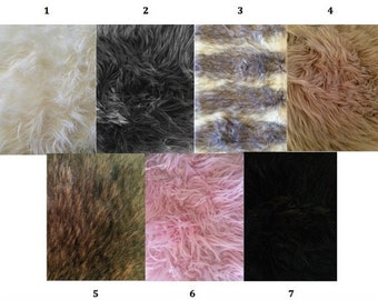 Faux Fur Sample Swatch
