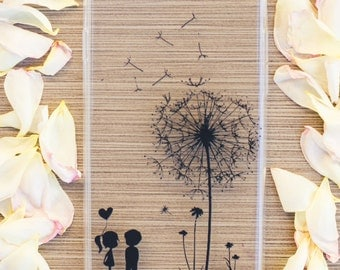 iPhone 6 Case, iPhone 6s Case Dandelion Handmade Heat Transfer Case
