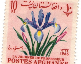 postes afghanes 1963 10 Ps