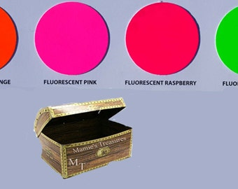 """1 yd roll Fluorescent Siser Easyweed Heat Transfer Vinyl 15"""" x 3' Foot Roll (7) Colors to choose from"""