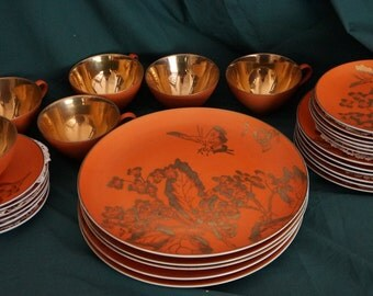 "Dorothy C. Thorpe ""Mad Men"" Dinner service for 6! Special limited time lowered price, was at 850!!!!"