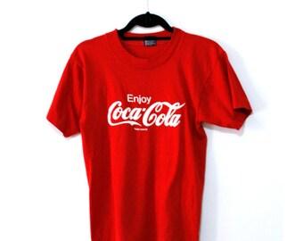 Classic Enjoy Coca Cola Tee