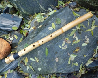 Flute SHAKUHACHI JINASHI 2.8 in Ab  (this is the note that sound when you close all holles)