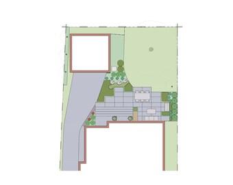 Modern Southern Backyard Landscape Design
