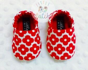 Little Flower Booties / Baby Booties / Baby Shoes