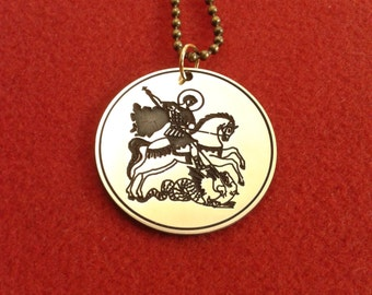 St. George necklace, Christian saint