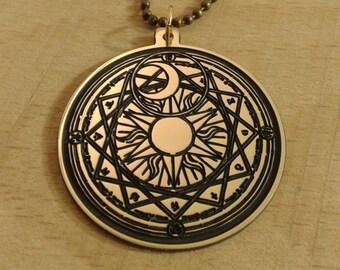 Sun Moon magic amulet