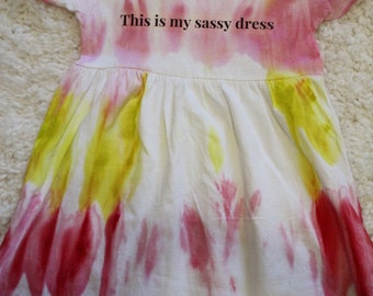 This is my sassy dress 3t