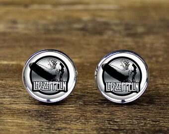 Led Zeppelin cufflinks, Music  cufflinks, Led Zeppelin jewelry