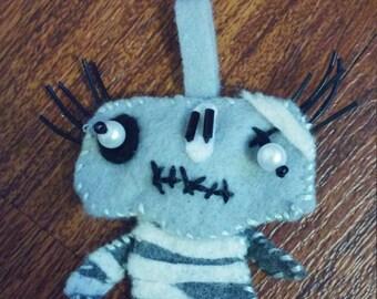 Cute mummy key charm