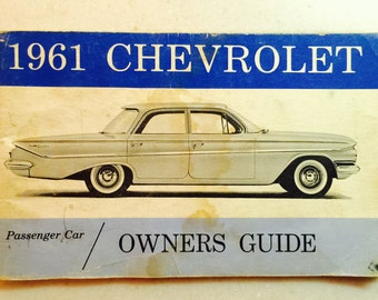 1961 Chevrolet Owners Guide