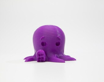 3D Printed Cute Octopus Says Hello