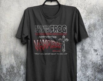 Frog Brothers Vampire Hunters The Lost Boys Inspired Classic 80's Movie Mens & Women's T-shirt Top Tee Shirt All Sizes And Colours