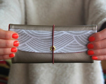 Tobacco Japanese-inspired pouch / female tobacco pouch / tobacco