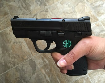 Custom Gun Monogram
