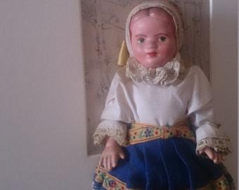 1950's Souvenir doll