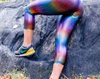 Metallic Rainbow Legging