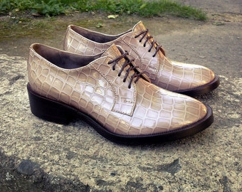 Womens Shoes, Womens Brogues, Oxfords for Women, Leather Shoes, Womens Oxfords, Handmade Shoes