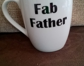Fab Father mug perfect fathers day gift