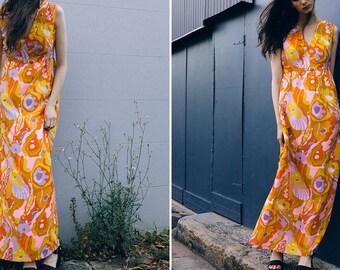 Maxi Dress - 70s Vintage