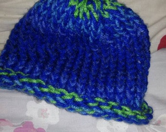 Handmade knitted children's hat