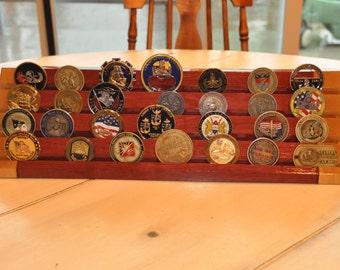 Purple Heart Coin Rack