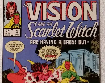 Vision and the Scarlet Witch, #4 of 12 (1985)