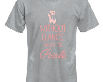 Dance, Pointe shirt