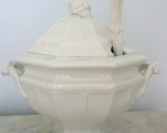 SALE!!!!-Red Cliff Ironstone Soup Tureen