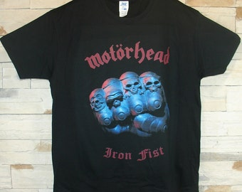 Motorhead Iron Fist, black shirt