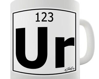 Periodic Table Of Elements Ur Your Ceramic Mug