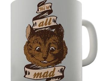 Mad Cat Ceramic Mug