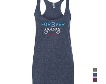 Forever Young - Womens - Tank - David Ross