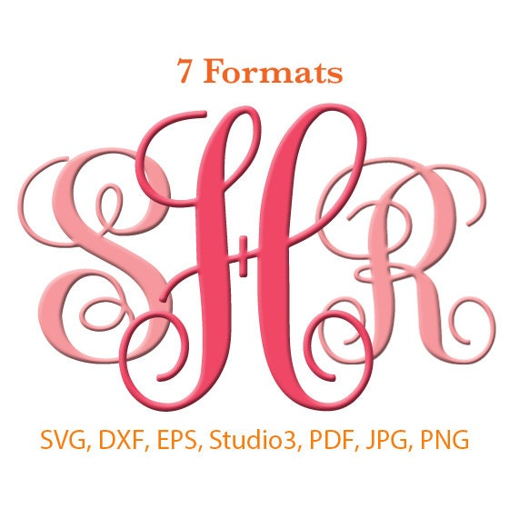 Download Vine Interlocking Monogram Font SVG ( Studio 3 / dfx / eps ...