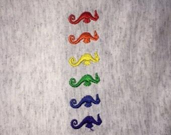Rainbow Sea Horses