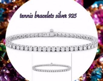 A tennis bracelet silver 925